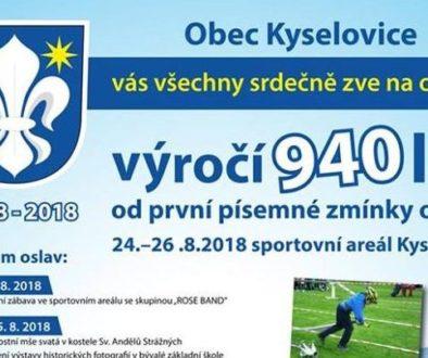 25. 8. 2018 Kyselovice